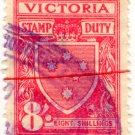 (I.B) Australia - Victoria Revenue : Stamp Duty 8/-