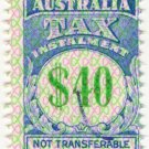 (I.B) Australia Revenue : Tax Instalment $40