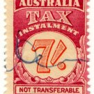 (I.B) Australia Revenue : Tax Instalment 7/-