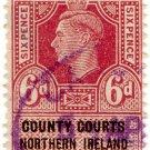 (I.B) George VI Revenue : County Courts (Northern Ireland) 6d