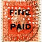 (I.B) New Zealand Revenue : Fine Paid 1/-