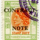 (I.B) Hong Kong Revenue : Contract Note $20