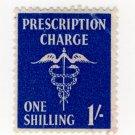 (I.B) Elizabeth II Revenue : Prescription Charge 1/-