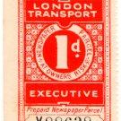 (I.B) London Transport Executive : Railway Newspapers 1d