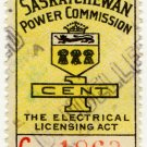(I.B) Canada Revenue : Saskatchewan Power 1c