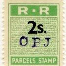 (I.B) Rhodesia Railways : Parcels Stamp 2/-