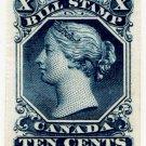 (I.B) Canada Revenue : Bill Stamp 10c (colour trial)
