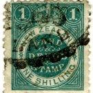 (I.B) New Zealand Revenue : Land & Deeds 1/- (small format)