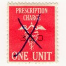 (I.B) Elizabeth II Revenue : Prescription Charge 1 Unit