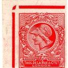 (I.B) Cinderella : De La Rue & Co - Minerva Head Essay