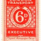 (I.B) London Transport Executive : Railway Newspapers 6d