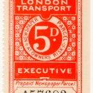 (I.B) London Transport Executive : Railway Newspapers 5d