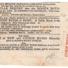 (I.B) QV Revenue : Newspaper Duty (John Bull)