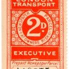(I.B) London Transport Executive : Railway Newspapers 2d