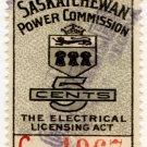 (I.B) Canada Revenue : Saskatchewan Power 5c