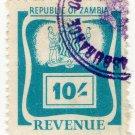 (I.B) Zambia Revenue : Duty 10/-