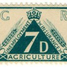 (I.B) George V Revenue : Agricultural Insurance 7d