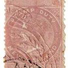 (I.B) New Zealand Revenue : Stamp Duty 5/-