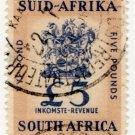 (I.B) South Africa Revenue : Duty Stamp £5