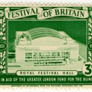 (I.B) Festival Of Britain 1951 : Royal Festival Hall 3d