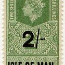 (I.B) Elizabeth II Revenue : Isle of Man 2/-