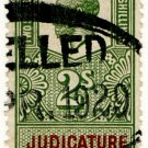 (I.B) George V Revenue : Judicature Fees 2/-