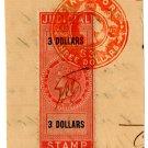 (I.B) Malaya States Revenue (Singapore) : Judicial $3