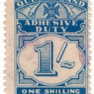 (I.B) Australia - Queensland Revenue : Adhesive Duty 1/-