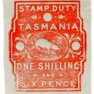 (I.B) Australia - Tasmania Revenue : Stamp Duty 1/6d