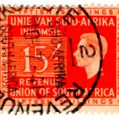 (I.B) South Africa Revenue : Duty Stamp 15/-