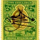 (I.B) Orange River Colony Revenue : Duty 2/-