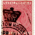 (I.B) Natal Revenue : Duty Stamp 5/- (Customs)