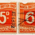 (I.B) North British Railway : Newspaper Parcel Collection