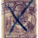 (I.B) Northern Rhodesia Revenue : Duty Stamp £10