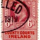 (I.B) Edward VII Revenue : County Courts Ireland 6d