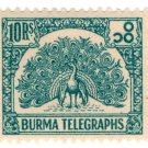(I.B) Burma Telegraphs : 10R (1946)