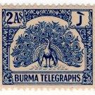 (I.B) Burma Telegraphs : 2a (1946)
