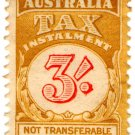(I.B) Australia Revenue : Tax Instalment 3/-