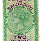 (I.B) Mauritius Revenue : Bill of Exchange 2d
