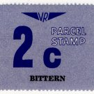 (I.B) Australia - Victoria Railways : Parcel 2c (Bittern)