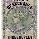 (I.B) Mauritius Revenue : Bill of Exchange 3R 35c