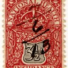 (I.B) George V Revenue : National Health & Insurance 3½d