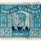 (I.B) South-West Africa Revenue : Duty £5