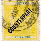 (I.B) New Zealand Revenue : Counterpart 3/- (Napier)