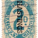 (I.B) New Zealand Railways : Railway Charges 2d (Hastings)