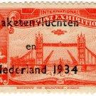 (I.B) Netherlands Cinderella : Rocket Mail (Rakentenvluchten) 1934