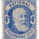 (I.B) National Telephone Company : 4d Blue