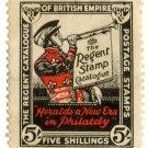 (I.B) Cinderella Collection : The Regent Stamp Catalogue 5/-