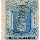 (I.B) Southampton Revenue : County Court Fees 3/-