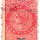 (I.B) New Zealand Revenue : Stamp Duty 2/-